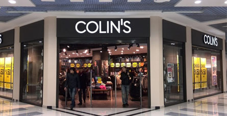 New clothing store «Colin's» in Dnepropetrovsk