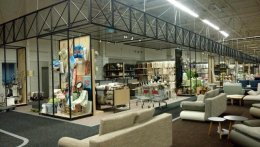 May 2, 2017 in Odessa, opened the first hypermarket of furniture MARGO.