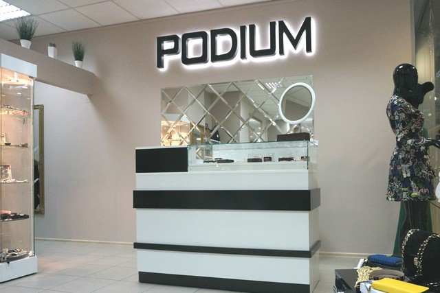 SHOP «PODIUM» In the SEC